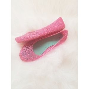 Other - Girls Pink Jelly Shoes